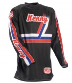 Kenny джерси Vintage 2013, Black/Blue/White/Red