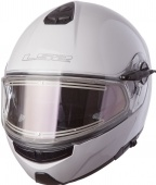 LS2 Мотошлем FF325 STROBE ELECTRIC SNOW, solid - white
