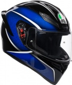 AGV Мотошлем K1 multi, qualify black/blue