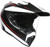 AGV Мотошлем AX-9 multi mplk, pacific road matt black/wh/red