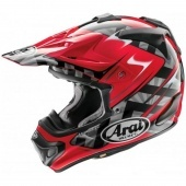 Мотошлем Arai MX-V Scoop Red