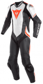 Мотокомбинезон Dainese Laguna Seca 4 1PC, N32 black-white-red-fluo-red