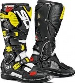 Sidi ботинки Crossfire 3, white-black-yellow fluo