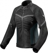 Revit Мотокуртка Arc Air Ladies, black-grey