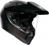 AGV Мотошлем AX-9 solid mplk, matt carbon