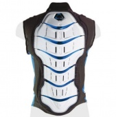 Защита спины Tryonic Vest Feel 3.7, white-blue