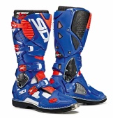 Sidi ботинки Crossfire 3, white-blue-redfluo