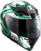 AGV Мотошлем Horizon multi - stamina, black/white/green