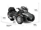 Аренда трицикла Can-Am SPYDER RT LTD
