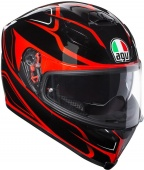 AGV Мотошлем K-5 s e2205 multi plk magnitude, black/red