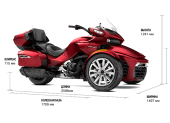 Аренда трицикла Can-Am SPYDER F3 LTD