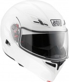 Мотошлем AGV Compact ST E2205, solid plk white