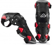 Acerbis защита коленей Knee guard impact evo 3.0 black/red