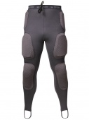 Forcefield легинсы Pro pants sport pads grey