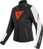 Мотокуртка Dainese Laguna Seca 3 D-Dry U25 женск., wh/fluo-red/blk