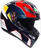 Мотошлем AGV K1 Pitlane, blue/red/yellow