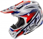 Мотошлем Arai MX-V Slash Red