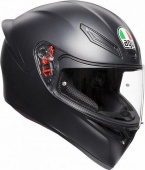 AGV Мотошлем K1, solid matt black