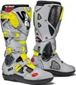 Sidi ботинки Crossfire 3 SRS, black-ash-yellow fluo