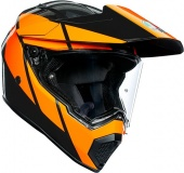Мотошлем AGV AX-9 Trail, gunmetal/orange