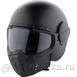 Caberg шлем Jet Ghost matt black